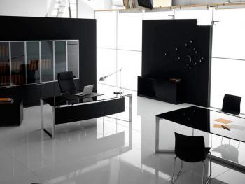 Meuble bureau Ebène