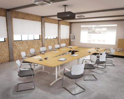 Table plateau basculant modulaire