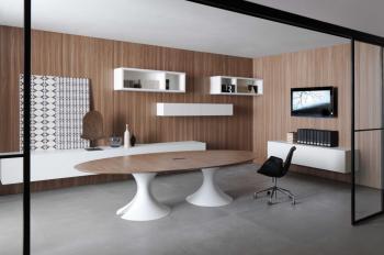 Table de réunion électrifié design