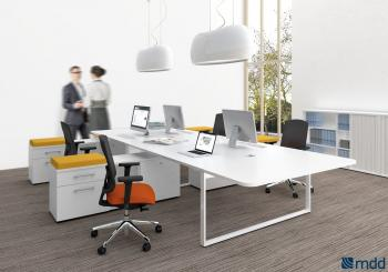 Bureau bench avec rallonges
