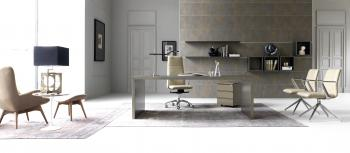 Bureau direction verre Wing Glamour