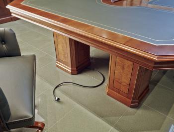Electrification table conférence
