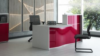 Banque réception design Wave