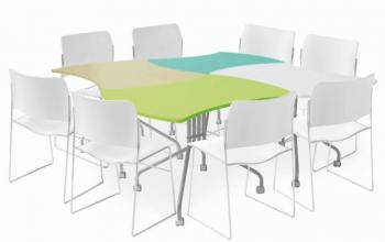 Table modile pour coworking