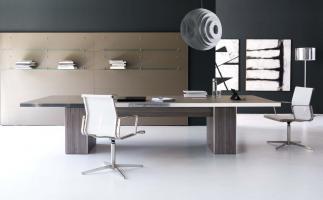 Tables de réunion en bois mélaminé
