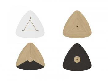 Plateau triangulaires table RAIL