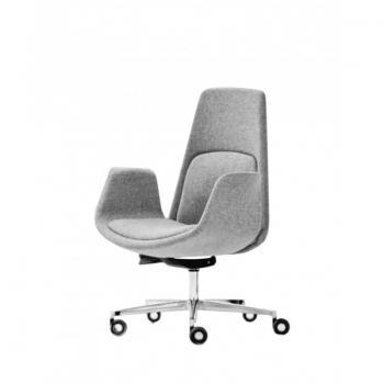 NORDIC fauteuil dossier moyen tissu