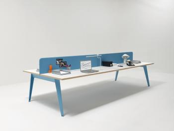Bureau 4 postes open space