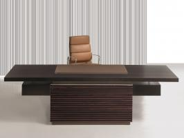 Bureau TAIKO - contemporain façade bois massif ou classique façade cuir