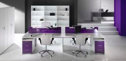 Bureaux bench couleur IRIS