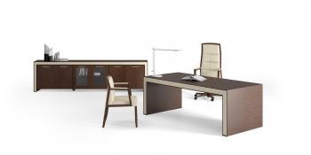 Bureau et armoire basse
