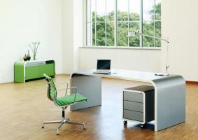 Bureau HIGHLINE - bureau de direction style industriel en métal