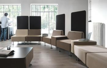 Systeme banquette modulable