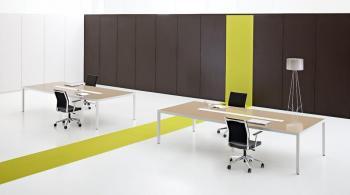 Tables de réunion verre électrifiées