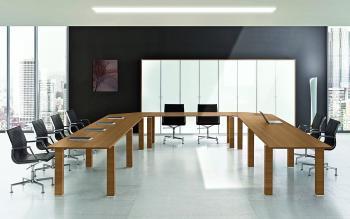 Tables de réunion modulables JET