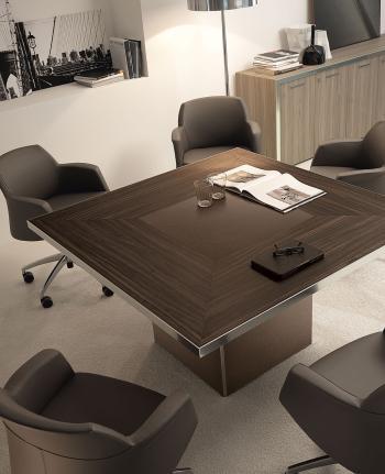 Table carrée réunion ATHOS