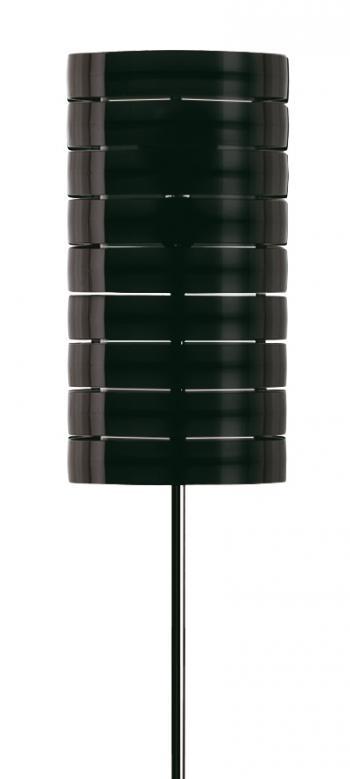 RING lampadaire noir