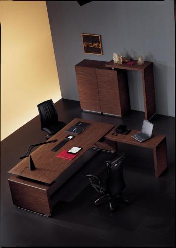 Bureau avec retour
