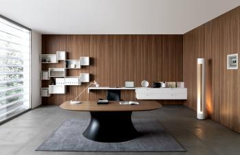 Bureau design Ola noyer
