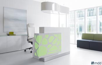 Banque lumineuse de reception Organic