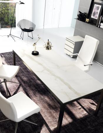 Fly Glamour plateau grès blanc
