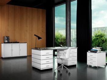 Ensemble meubles Classic Line blanc