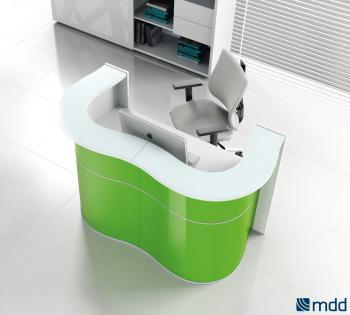 Accueil vert moderne