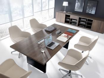 MITO tablede réunion mélamine