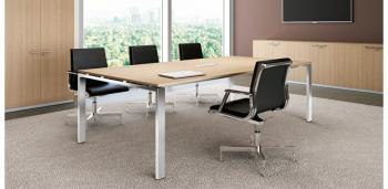 Table de réunion électrifiée GLIDER
