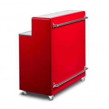 Bar métal rouge