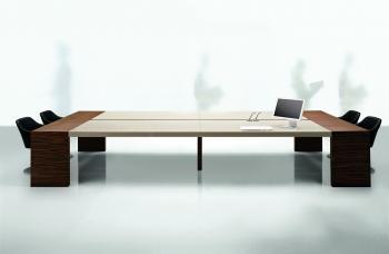 Table KYO plateau verre beige
