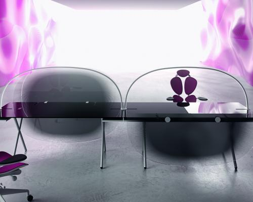 Bureaux bench contemporain HOOK