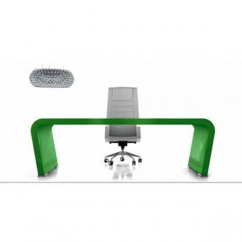 Vanity bureau vert moderne