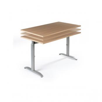 Table ODYSSE plateau réglable en hauteur