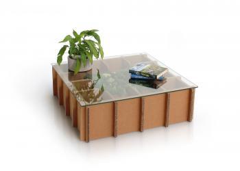 Table basse carton SAVINE
