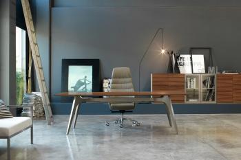 Bureau avec meubles modernes