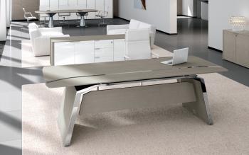 Aménagement bureau , meuble bas et table de réunion gamme Metar