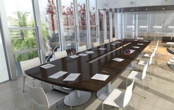 Table de conférence modulaire