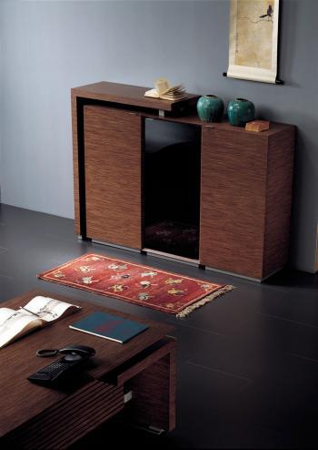 Armoire design en bois RHO