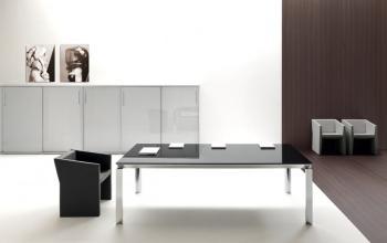 Table de réunion HAN verre