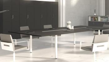 Table de réunion modulaire I POP