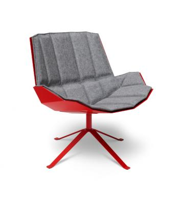 Fauteuil Martini rouge