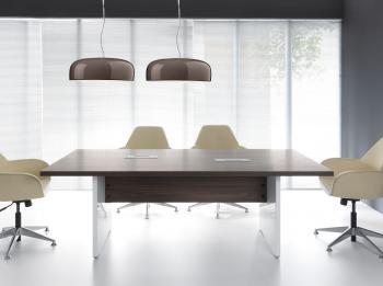 MITO table de réunion rectangulaire