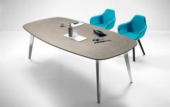 Table de réunion PIGRECO bois