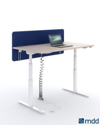 Bureau YAN individuel hauteur réglable électrique
