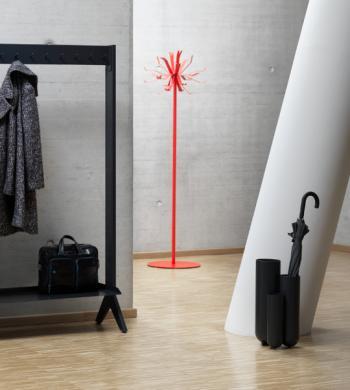 Porte-mateau et porte-parapluie