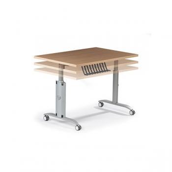 Table ODYSSE plateau basculant réglable en hauteur