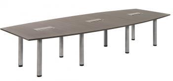 Table de conférence forme tonneau