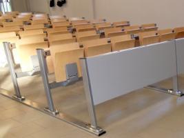 Mobilier d'université pour amphithéâtre et salle d'un niveau