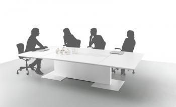 Table de réunion électrifiée